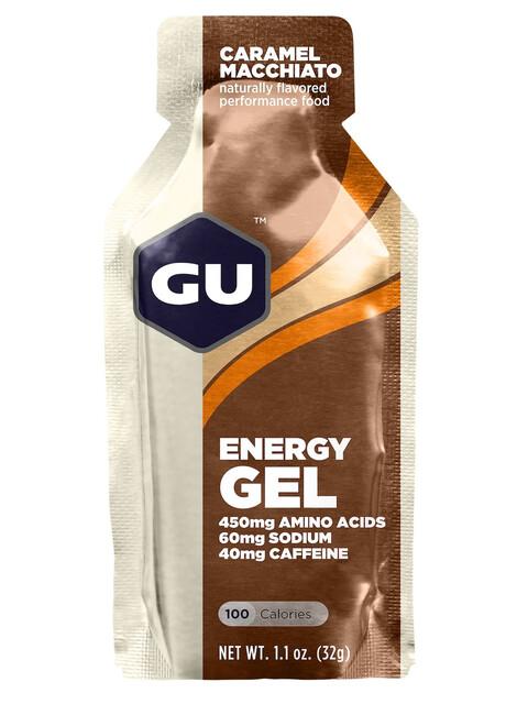 GU Energy Gel - Nutrition sport - Caramel Macchiato 32g
